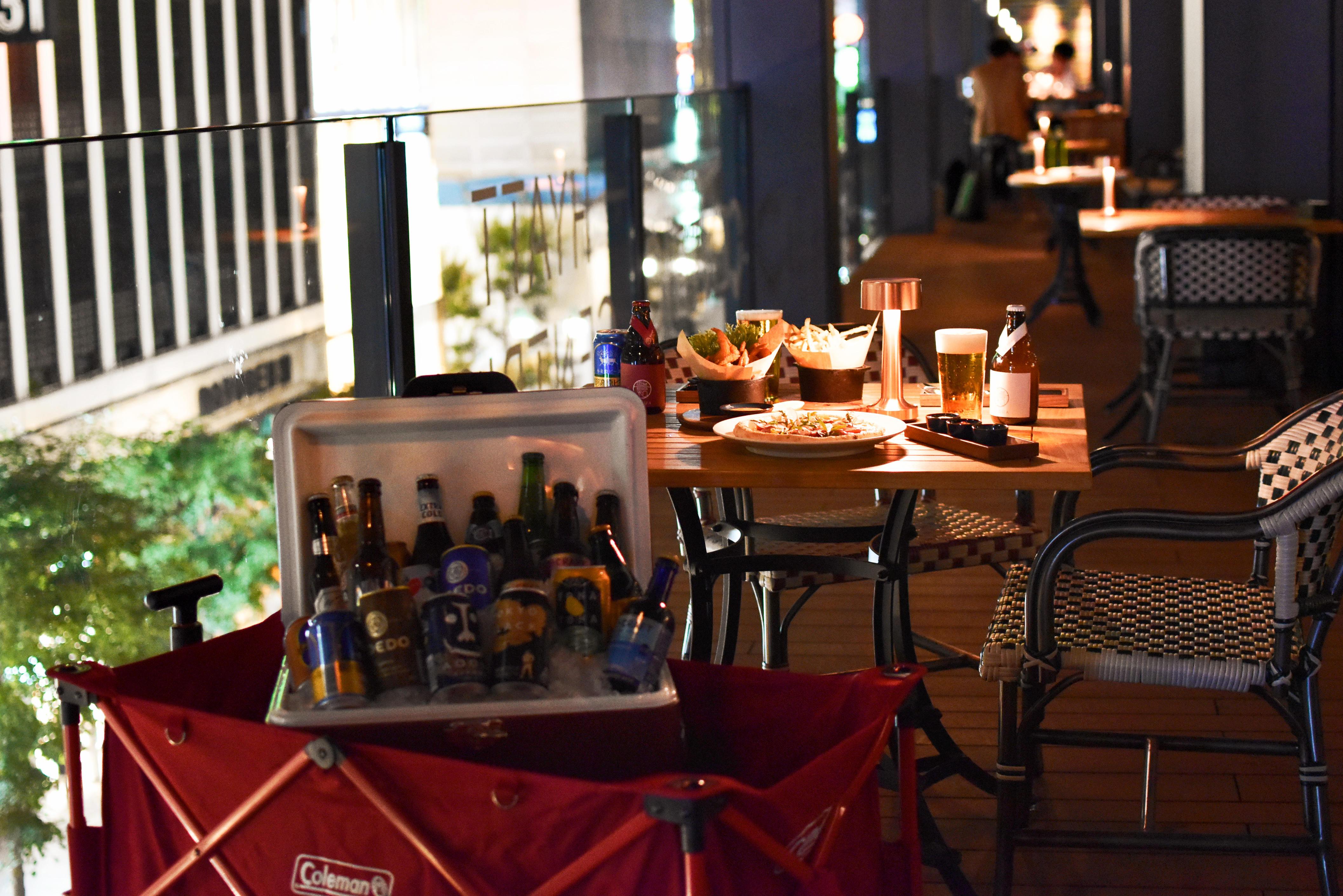 ハイアット セントリック 銀座 東京 NAMIKI Beer Terrace